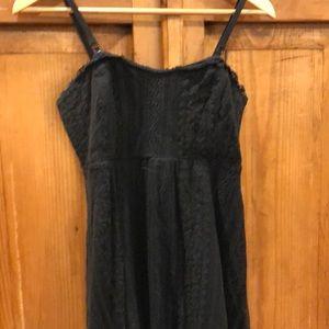 Strapless black Free People dress size 4